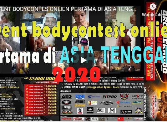 EVENT BODYCONTES ONLIEN PERTAMA DI ASIA TENGGARA