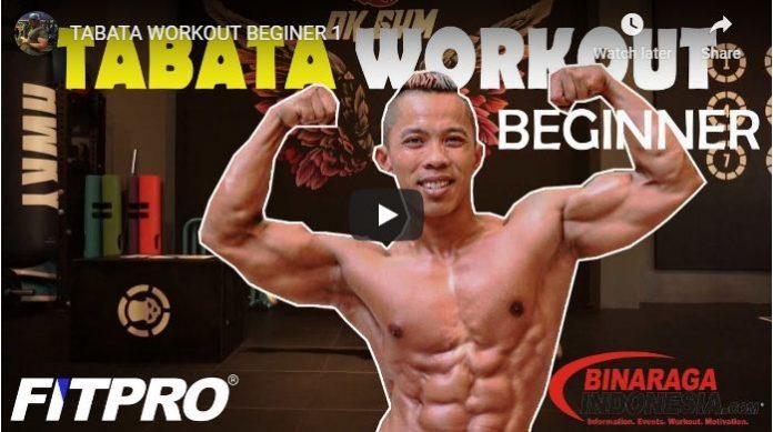 Program Latihan Fitness untuk Di Rumah TABATA WORKOUT BEGINER 1