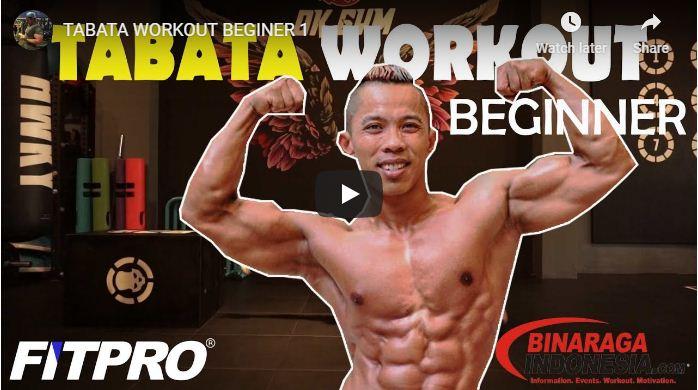 Program Latihan Fitness Untuk Di Rumah Tabata Workout Beginer 1 Binaraga Indonesia