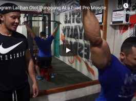 Video Program Latihan Membentuk Otot Punggung Ala Fuada Pro Muscle