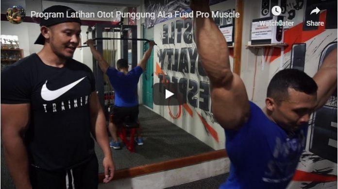 Video Program Latihan Membentuk Otot Punggung Ala Fuada Pro Muscle