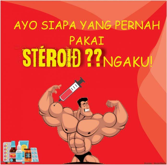 binaraga pake steroid