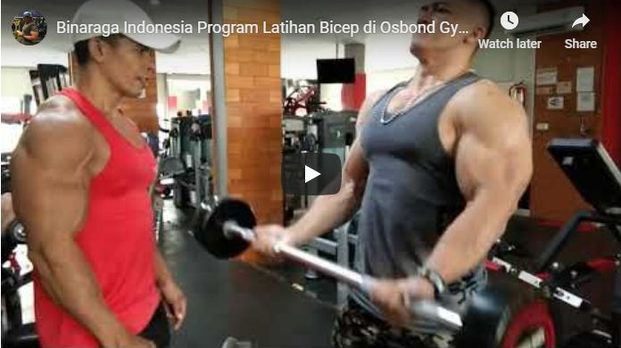 Program Latihan Membentuk otot Bicep