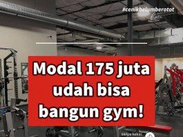paket Alat fitness import murah
